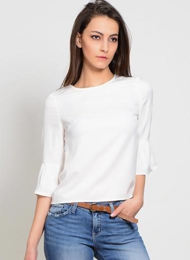 Girls On Film Bluz Beyaz
